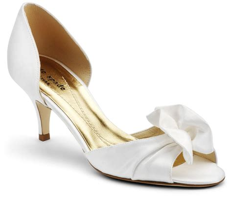 Wedding Heels by Low Heel Wedding Shoes For A And Feminine Appearance