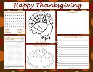 thanksgiving coloring placemats thanksgiving activity placemat easy event ideas