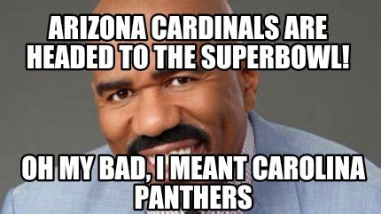 Arizona Memes - meme creator arizona cardinals are headed to the