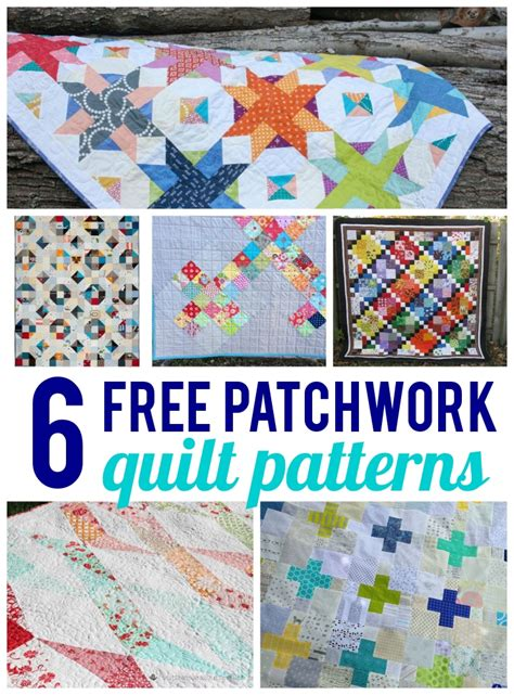 Patchwork Patterns Free - free patchwork quilt patterns on craftsy