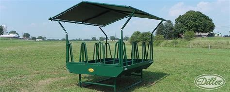 Futon Hay Feeder by Tombstone Feeders By Diller