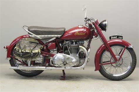 Indian Motorrad 1950 by Indian 1950 Scout 250 440cc 2 Cyl Ohv 2706 Yesterdays