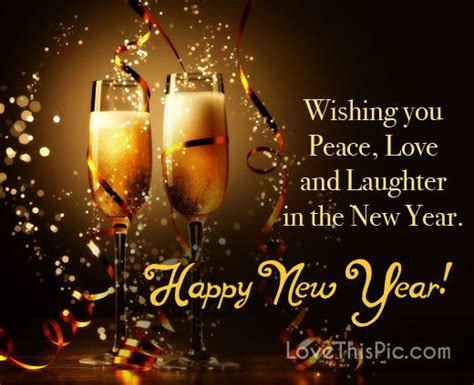 wishing u happy new year wishing you peace happy new year pictures photos and images for