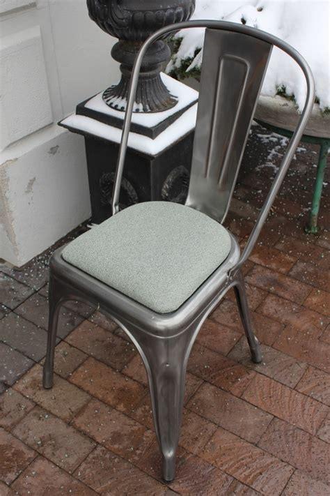 metal chair cushions tolix chair cushion room