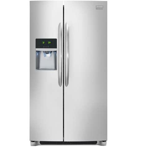 depth refrigerator lowes shop frigidaire gallery 22 2 cu ft counter depth by