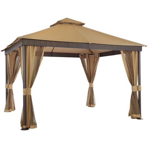 gazebo awning replacement la palma ii gazebo replacement canopy garden winds