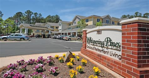 raleigh independent living whispering pines gracious
