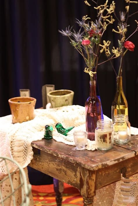 Eclectic Rustic Decor by Eclectic Rustic Table Decor A Tale As As Time