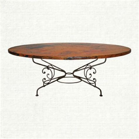 artisans table magical dining view the arabesque large oval copper table at arhaus when