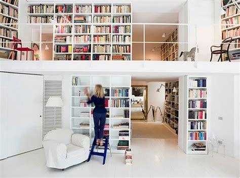 design home book clairefontaine hogares frescos 37 ideas para la biblioteca de dise 241 o con