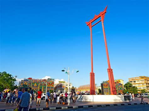 Photo The Giant Swing In Bangkok Thailand