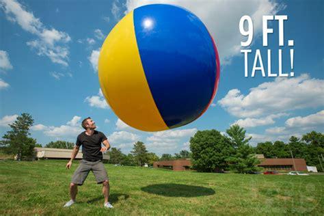 large balls 9 foot up