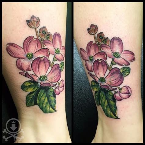dogwood tattoo dogwood flower wrist www imgkid the image
