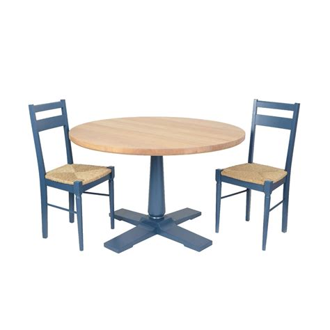 Blue Dining Table by Heal S Pinner Dining Table Atlantic Blue At Amara