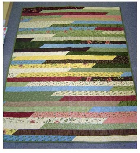 Easiest ever jelly roll quilt reduce your stash in no time katie