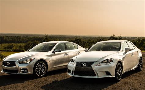 infiniti q50 vs lexus is 350 the is in the details
