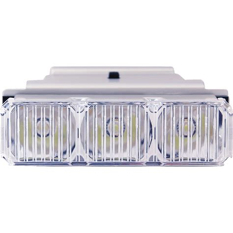 Led Light Bar Replacement Parts Buyers 3024631 3 Led Reflector Middle Light Bar Replacement Module 38 04