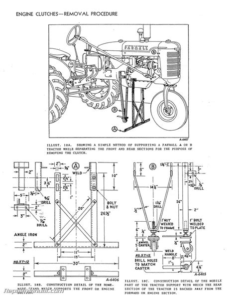ih parts diagrams international harvester farmall tractor engine clutch