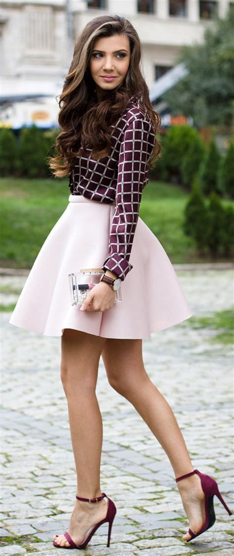 Mini Semi Formal Dress Motif Gridtartankotak Kot Murah casual 25 practical amazing ideas for