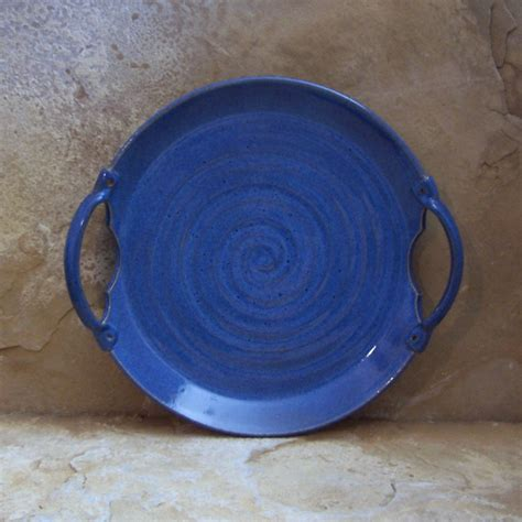 Handcrafted Pottery Dinnerware - indigo blue handmade stoneware ceramic pottery by