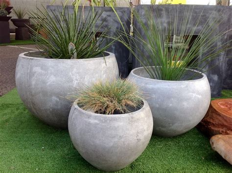 contemporary pots and planters