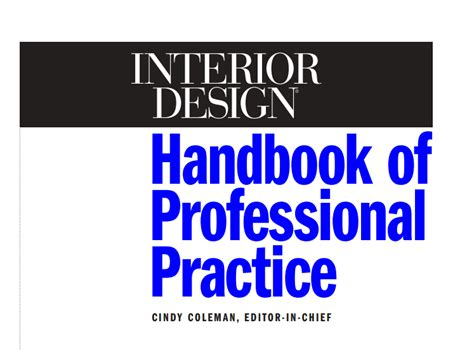 free interior design books interior designers handbook for professional practice free