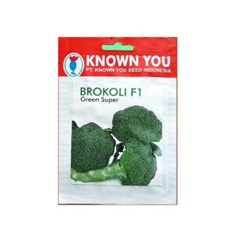 Benih Brokoli Green benih known you seed brokoli green 180 biji jual