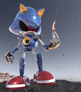 How Is Lighting Created Metal Sonic To Ashes By K4ve On Deviantart