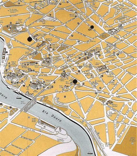 porto map maps of oporto