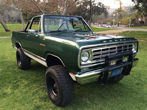 1976 dodge ramcharger se 4x4 powerwagon convertible gt gt los