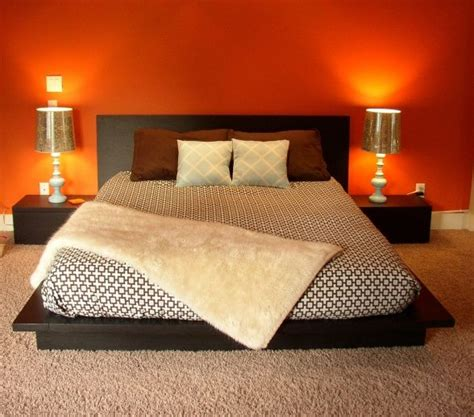 orange color bedroom ideas best 25 orange accent walls ideas on pinterest orange