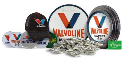 Valvoline Giveaway - valvoline150 com every valvoline receipt is a chance to win the valvoline 150