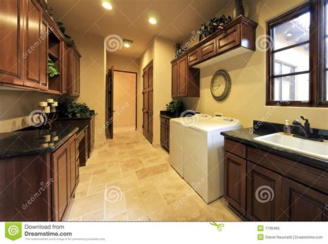home laundry laundry room in luxury home stock image cartoondealer