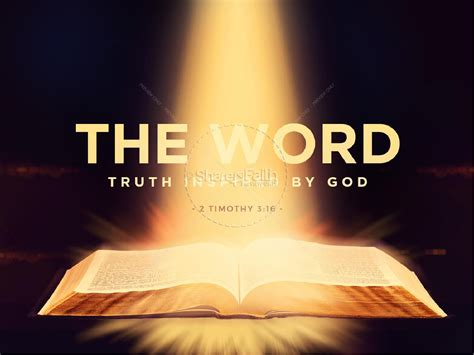 The Word Of God Bible Powerpoint Powerpoint Bible