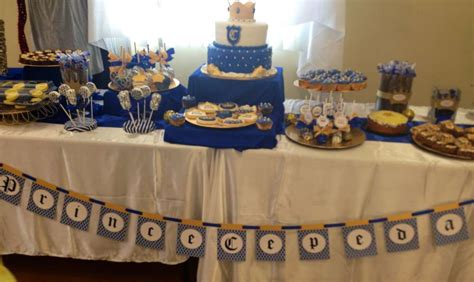 Royal King Themed Baby Shower by Royal Prince Baby Shower Ideas Photo 9 Of 12
