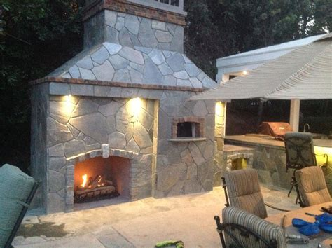 outdoor pizza oven and fireplace dolce vita specialty