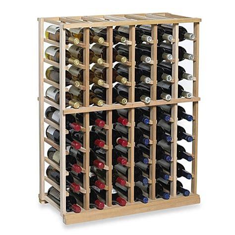N Finity 60 Bottle Wine Rack Kit Bed Bath Beyond Bathroom Bottle Storage