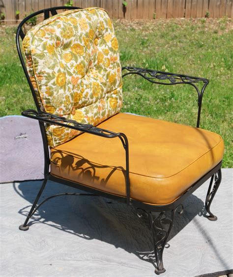 rare woodard lady patio chair 1950 s era rose wrought
