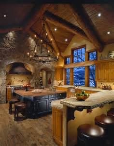 Colorado Home Decor Colorado Mountain Home Traditional Kitchen Phoenix