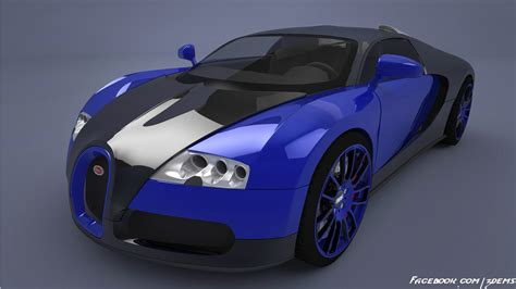 blue bugatti bugatti veyron blue by axel redfield on deviantart