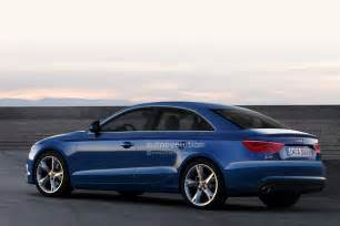 2013 audi a3 sedan rendered autoevolution