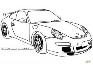 Porsche Coloring Pages Porsche 911 Gt3 Coloring Page Free Printable Coloring Pages
