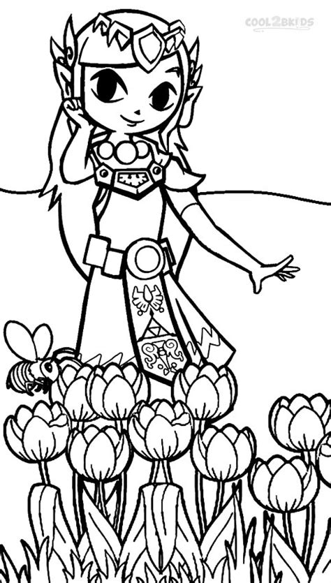 coloring pages of zelda printable zelda coloring pages for kids cool2bkids