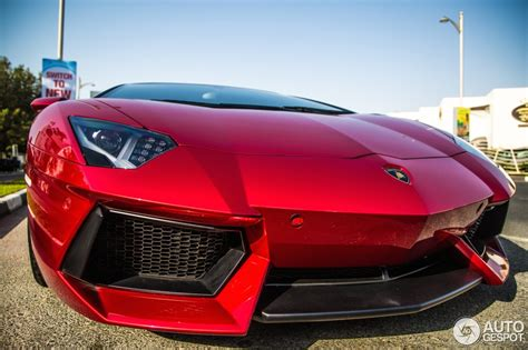 convertible lamborghini red shimmering beauty candy red lamborghini aventador roadster