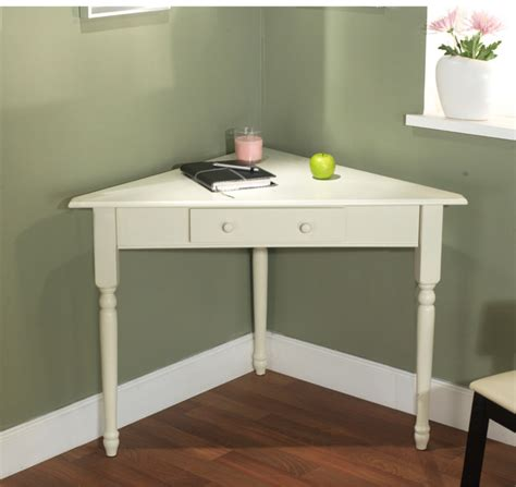 white corner desk with turned legs contemporary desks