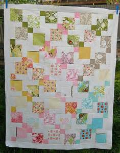 You have to see disappearing nine patch quilt on craftsy