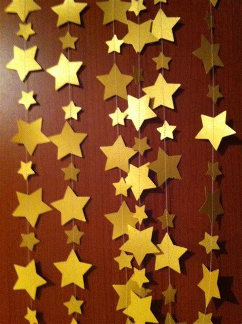 14 feet golden bunting, garland, gold, star, wedding