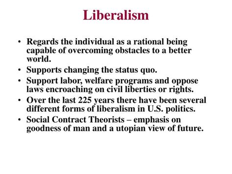 the eclipse of the utopias of labor forms of living books ppt chapter 4 political ideologies powerpoint