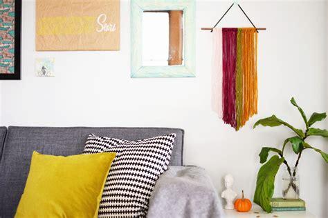 String Wall Decor - diy string wall