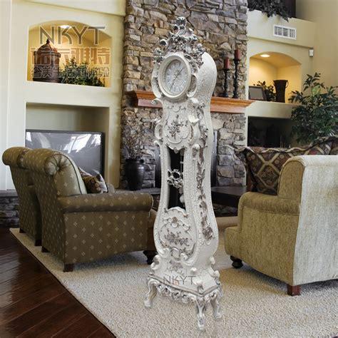 room clocks living room floor clock modern mute creative clock on time